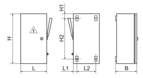 размеры ящиков серии ЯРП