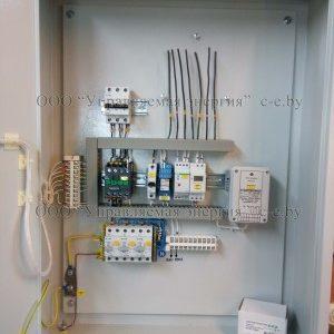 Фото изготовленных ящиков управления освещением