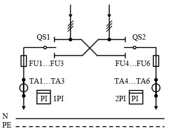 Схема первичных соединений УВР-01
