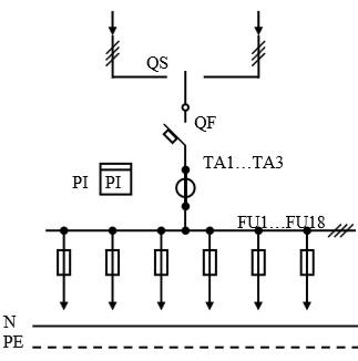 Схема первичных соединений УВР-20