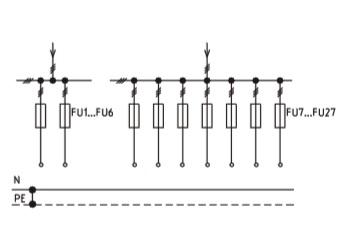 Схема ВРУ1-41-00, ВРУ1-42-01, ВРУ1-42-02