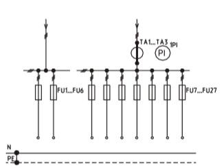 Схема ВРУ1-43-00 с описанием элементов