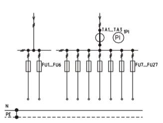 Схема ВРУ1-46-00 с описанием элементов