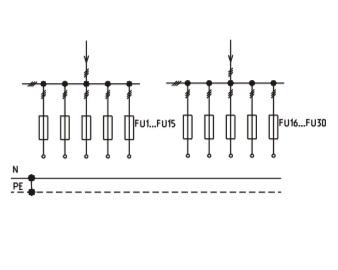 Схема ВРУ1-47-00, ВРУ1-48-03, ВРУ1-48-04