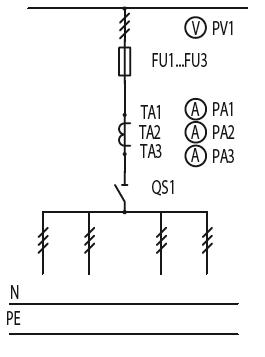 Схема первичных соединений ЩО-70-1-30-У3