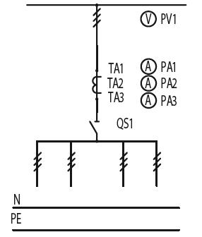 Схема первичных соединений ЩО-70-1-31-У3