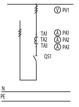 Схема первичных соединений ЩО-70-1-33-У3