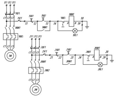Я5114 для управления нереверсивными электродвигателями