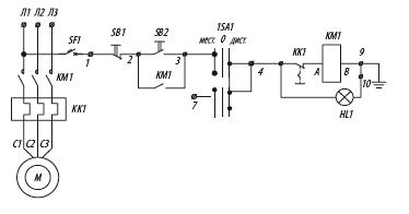 Я5131 для управления нереверсивными электродвигателями