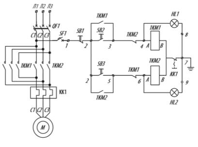 Я5410 для управления реверсивными электродвигателями