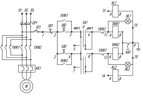 Я5441 для управления реверсивными электродвигателями