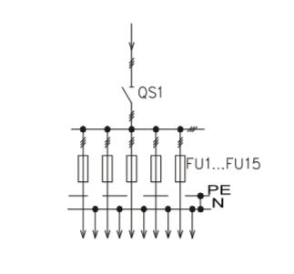 Схема промышленного распределительного шкафа ШР-86-СЕ-01.У3