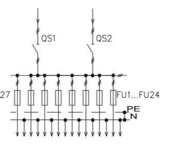 Схема промышленного распределительного шкафа ШР-86-СЕ-22.У3