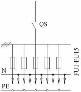 Принципиальная схема ШРС-СЕ с ном. током до 200А