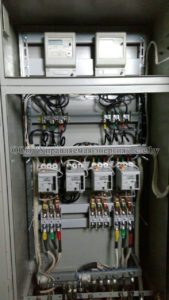 Шкаф АВР после модернизации