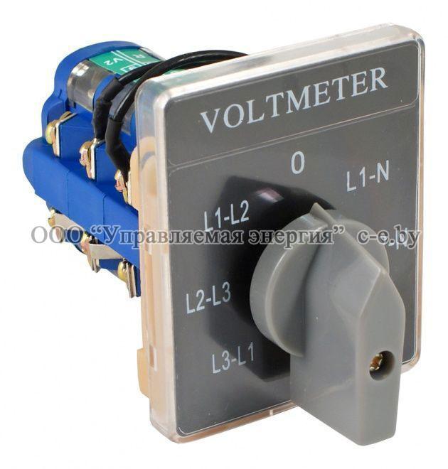 Переключатель вольтметра на 7 положений