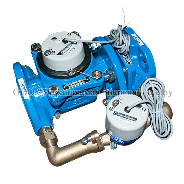 Счетчики воды сопряженные тип MWN/JS-NK