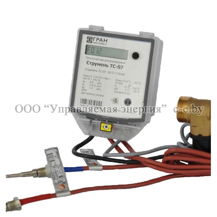 Теплосчетчики ультразвуковые ТС-07 и ТС-07-К6