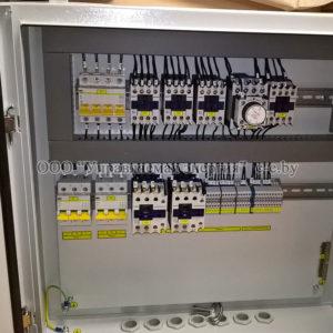 Фото шкафов управления(модулей подключения МП-Е) тепловыми завесами