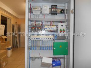 Шкаф наружного освещения с реле времени РУНО-3