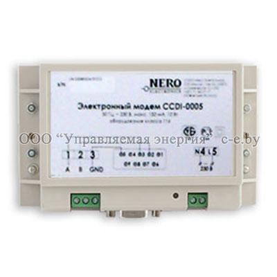 Электромодем CCDI-0005 (стационарный PLC-модем)