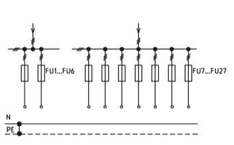 Схема ВРУ1-44-00, ВРУ1-45-01, ВРУ1-45-02