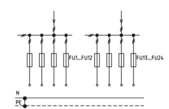 Схема ВРУ1-50-00, ВРУ1-50-01, ВРУ1-50-02