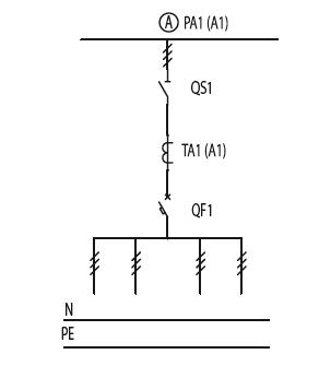 Схема первичных соединений ЩО-70-1-23-У3