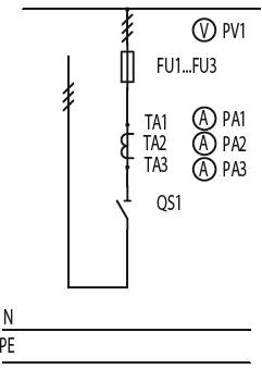 Схема первичных соединений ЩО-70-1-32-У3