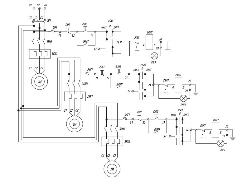 Я5129 для управления нереверсивными электродвигателями