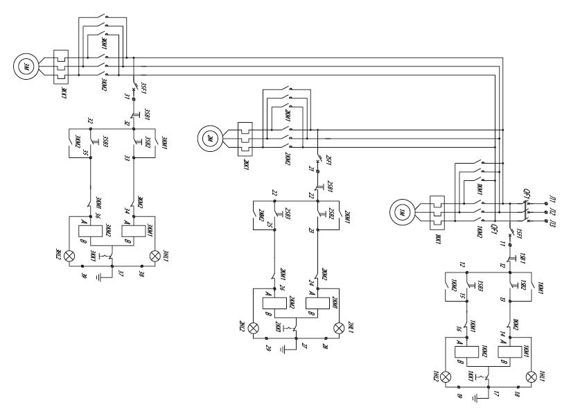 Я5428 для управления реверсивными электродвигателями