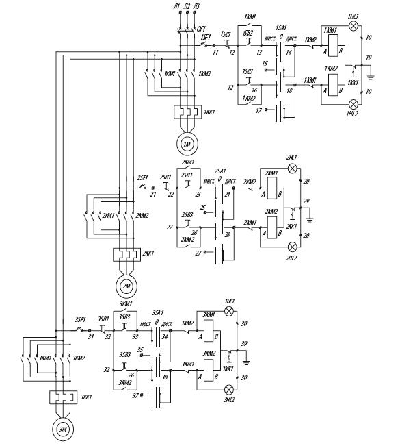 Я5429 для управления нереверсивными электродвигателями
