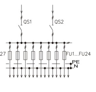 Схема промышленного распределительного шкафа ШР-86-СЕ-20.У3