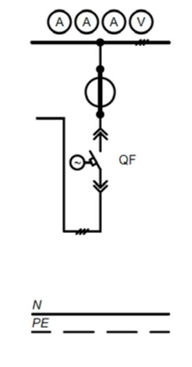 Электрическая схема РШНН 03-1-01-У3, РШНН 03-2-01-У3