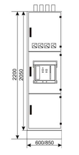 Вид с фасада РШНН 03-1-01-У3, РШНН 03-2-01-У3