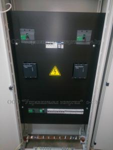 Шкаф с блоком АВР