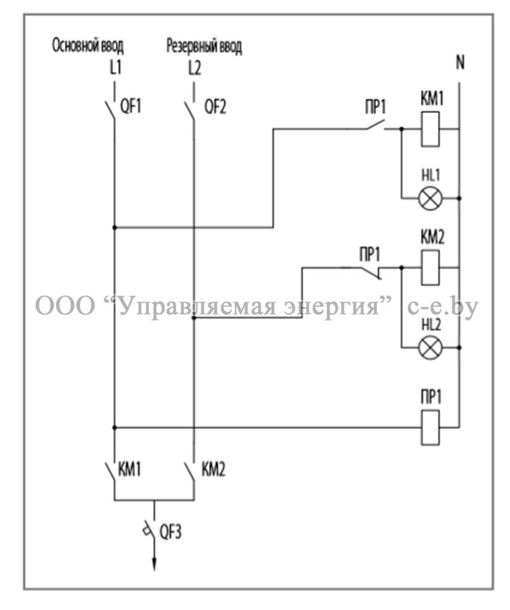 Схема соединений и элементы ЩАП-12