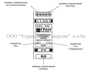 Внешний вид преобразователя интерфейсов МБ-02