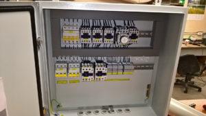 Шкаф управления тепловыми завесами