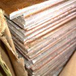 Биметаллические пластины медь-алюминий на складе в Минске
