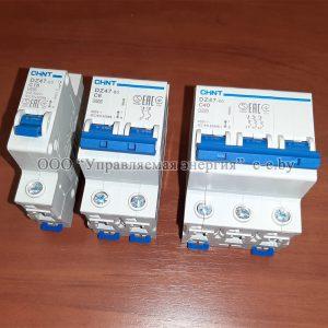 Автоматические выключатели серии DZ47-60 4.5kA