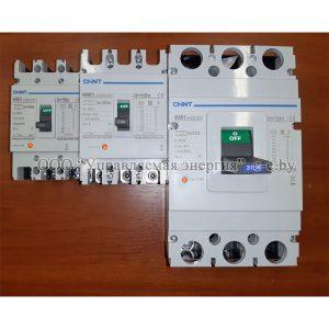 Автоматические выключатели серии NM1 силовые с фиксированным расцепителем
