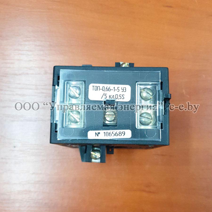 ТОП 0.66 400/5 1 5 0.5S УЗ – трансформатор тока в наличии в Минске