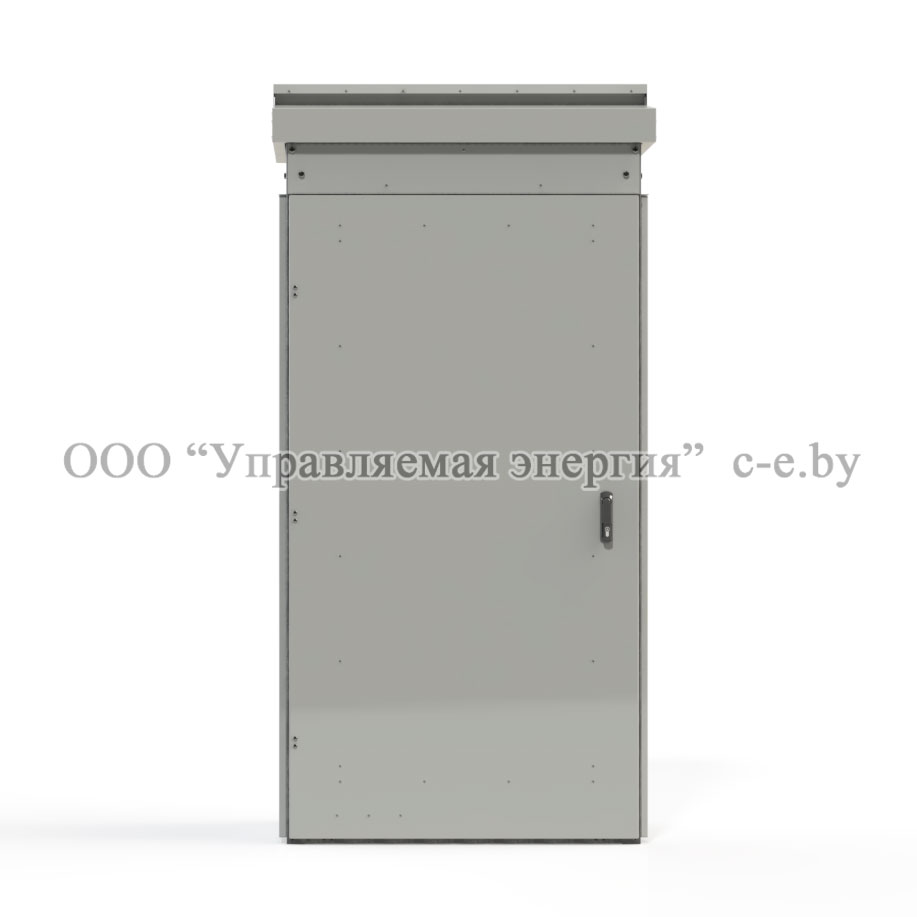 Защитно-декоративная конструкция(ЗДК) для шкафа наружного освещения ШНО